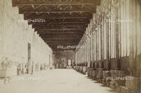 SCC-A-000003-0008 - Galleria meridionale del Camposanto di Pisa - Data dello scatto: 1855 ca. - Raccolte Museali Fratelli Alinari (RMFA)-collezione Scarpellini, Firenze
