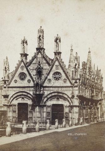 SCC-A-000003-0011 - Chiesa di Santa Maria della Spina a Pisa - Data dello scatto: 1855 ca. - Archivi Alinari, Firenze