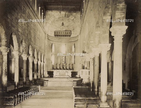 SCC-A-000007-0006 - Interior of the Church of San Frediano in Lucca - Data dello scatto: 1855 ca. - Archivi Alinari, Firenze