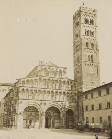 SCC-A-000007-0009 - The Cathedral of San Martino in Lucca - Data dello scatto: 1855 ca. - Archivi Alinari, Firenze