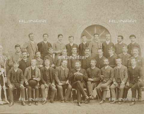 SCC-F-001116-0000 - Portrait of a male group - Data dello scatto: 1855 ca. - Archivi Alinari, Firenze