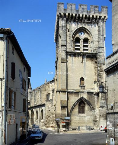 SEA-F-000064-0000 - The apse of the Collegiate Church of Notre-Dame in Villeneuve Les Avignon - Date of photography: 1996 - Seat Archive/Alinari Archives