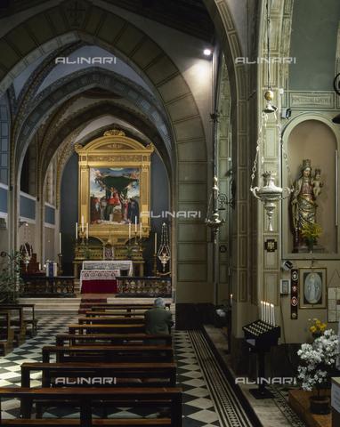 SEA-S-BG1998-0002 - Interno della Chiesa di San Bernardino in Pignolo, Bergamo - Data dello scatto: 1998 - Archivi Alinari, Firenze