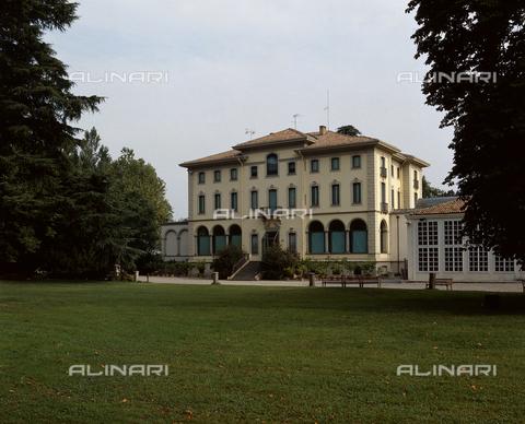 SEA-S-PR1996-0001 - Veduta di Villa Magnani, sede della Fondazione Magnani Rocca, Mamiano di Traversetolo, Parma - Data dello scatto: 1996 - Archivi Alinari, Firenze