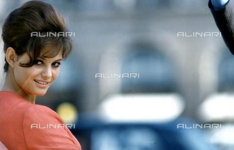 """SFA-F-000208-0000 - Claudia Cardinale in a shot of the film """"Cartouche"""" by Philippe De Broca; Rome, 1961 - Data dello scatto: 1961 - Shaw Family Archives © licensed by Alinari"""