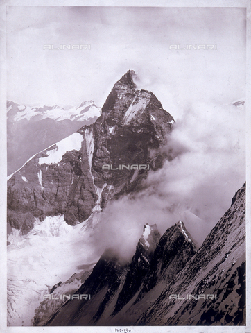 SFQ-F-000008-0000 - Mount Cervino summit - Data dello scatto: settembre 1885 - Archivi Alinari, Firenze