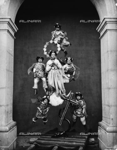 """TCA-F-000569-0000 - """"I Misteri: Immacolata Concezione"""" - Data dello scatto: 1870-1880 - Archivi Alinari-donazione Trombetta, Firenze"""