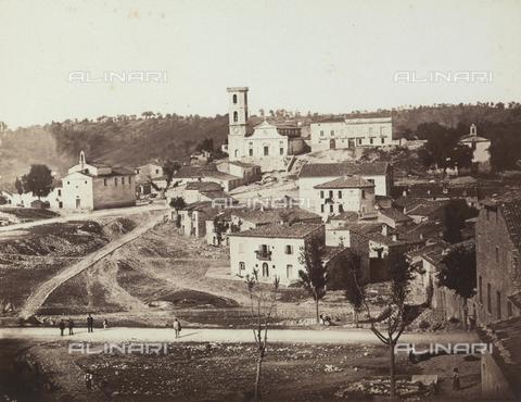TCA-F-00106V-0000 - Veduta di Vinchiaturo - Data dello scatto: 1865-1870 - Archivi Alinari-donazione Trombetta, Firenze