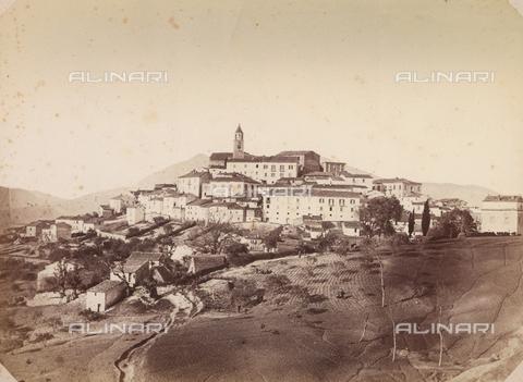 TCA-F-00110V-0000 - Veduta di paese molisano - Data dello scatto: 1870 ca. - Archivi Alinari-donazione Trombetta, Firenze