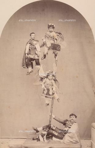 TCA-F-00243V-0000 - Rappresentazione sacra sui Misteri - Data dello scatto: 1874 - Archivi Alinari-donazione Trombetta, Firenze