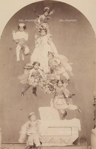 TCA-F-00245V-0000 - Rappresentazione sacra sui Misteri - Data dello scatto: 1874 - Archivi Alinari-donazione Trombetta, Firenze