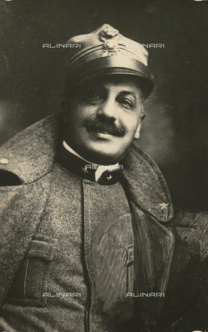TCA-F-00551V-0000 - Portrait of Benedetto Giordano in military uniform - Data dello scatto: 1917 - Archivi Alinari, Firenze