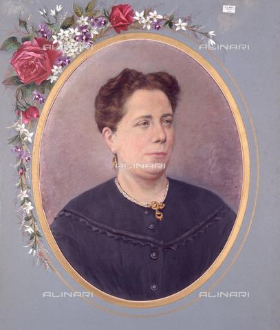 TCA-F-01792V-0000 - Ritratto a mezzo busto di donna con orecchini e collana - Data dello scatto: 1890-1900 - Archivi Alinari-donazione Trombetta, Firenze