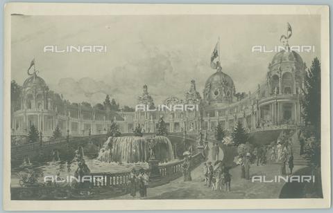 TCI-F-A03775-0000 - europa, italia, torino, struttura dell'esposizione, 1911 - Touring Club Italiano/Gestione Archivi Alinari
