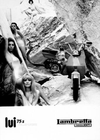 TCI-S-003290-AR03 - Innocenti 'Lui' 75 S - Data dello scatto: 1969 - Touring Club Italiano/Gestione Archivi Alinari