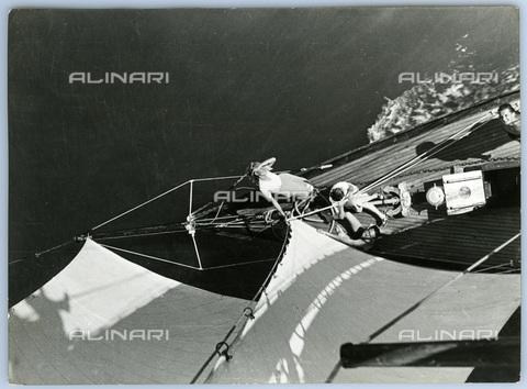 TCI-S-013162-AR03 - Vele sulla laguna - Data dello scatto: 1955 - Touring Club Italiano/Gestione Archivi Alinari
