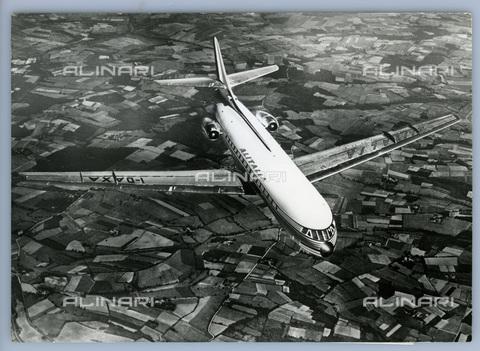 TCI-S-013848-AR03 - velivolo caravelle dell'alitalia, 1962 - Touring Club Italiano/Gestione Archivi Alinari