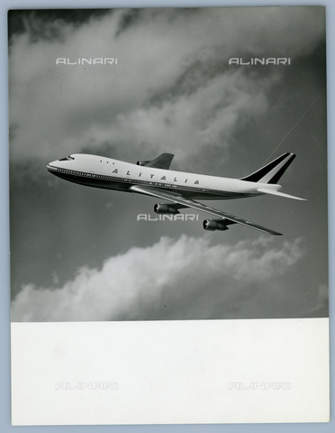 TCI-S-013878-AR03 - douglas boeing 747, 1967 - Touring Club Italiano/Alinari Archives Management