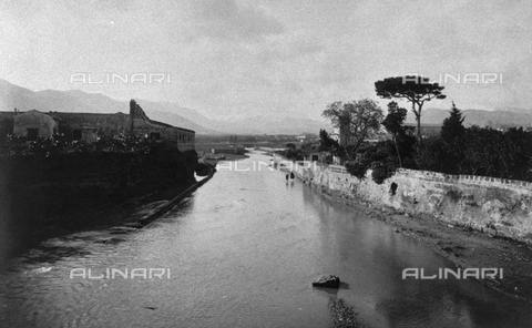 TCV-F-002737-0000 - The Oreto river near its mouth - Data dello scatto: 1900 ca. - Touring Club Italiano/Alinari Archives Management