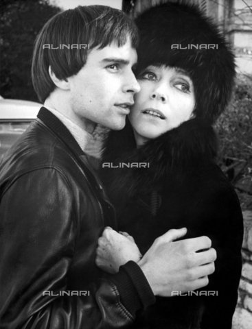 """TOP-F-047904-0000 - Actors Graham Faulkner and Valentina Cortese in a scene from the movie """"'Tis Pity She's a Whore"""" (""""Too bad it's a whore"""" or """"Goodbye cruel brother"""") - TopFoto / Alinari Archives"""