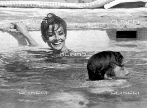 """TOP-F-152868-0000 - Gli attori Audrey Hepburn e Albert Finney in una scena del film """"Due per la strada"""" (1966) - TopFoto / Archivi Alinari"""