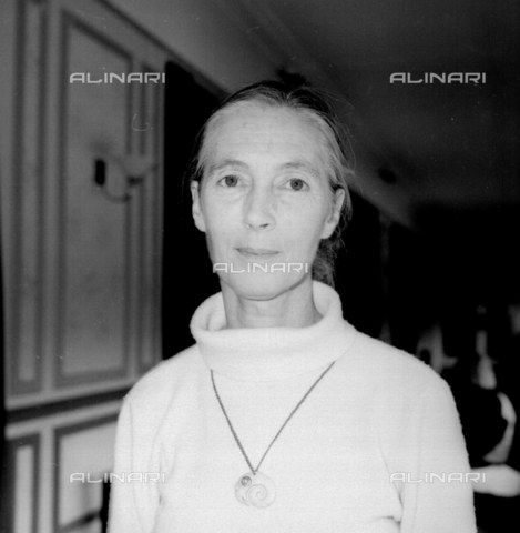 TOP-F-362597-0000 - Dame Valerie Jane Morris-Goodall, known as Jane Goodall (1934-), English ethologist and anthropologist - 2004 UPP / TopFoto / Alinari Archives