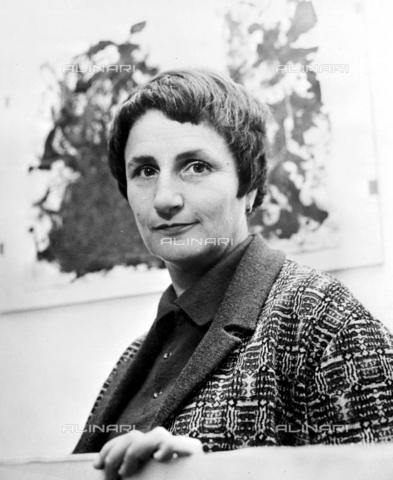 TOP-F-545410-0000 - Jeanne Modigliani, figlia del celebre pittore Amedeo Modigliani - Data dello scatto: 11/11/1936 - TopFoto / Archivi Alinari