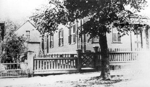 TOP-F-934872-0000 - The Borden family's home in Fall River, in the United States; Lizzie Borden's home - TopFoto / Alinari Archives