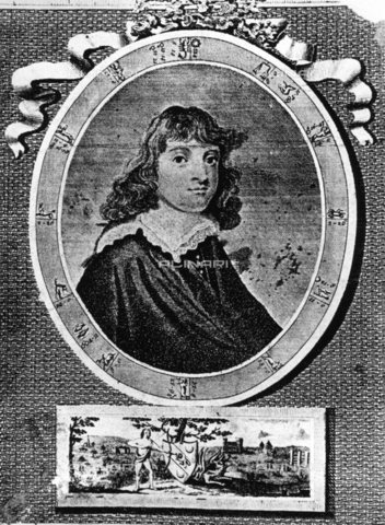 TOP-F-978359-0000 - Nicholas Culpeper, herbalist and English doctor (1616-1654). Image reproduced in the volume 'English Physician' (1805) by N. Culpeper - Fortean / TopFoto / Alinari Archives