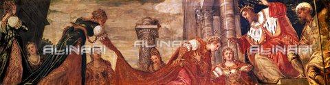 TOP-F-978825-0000 - Ester ante Assuero o Ester prima di Assuero, dipinto,  Jacopo Robusti, detto il Tintoretto (1518-1594), Museo del Prado, Madrid - TopFoto / Archivi Alinari