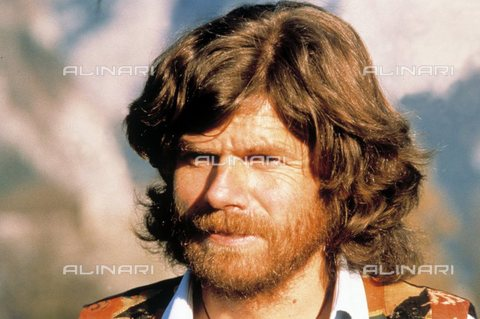 TOP-S-000135-9538 - L'alpinista Reinhold Messner - Data dello scatto: 01/01/1998 - TopFoto / Archivi Alinari, United Archives