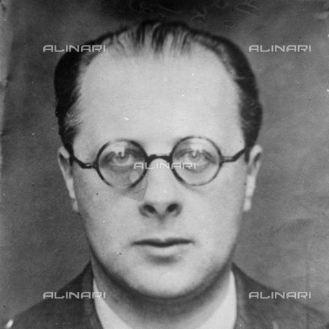 TOP-S-00EU05-0043 - Carlo Rosselli (1899-1937) intellettuale antifascista italiano assassinato il 9 giugno 1937 da membri del C.S.A.R, un'organizzazione segreta di estrema destra, su ordine proveniente dai servizi segreti fascisti - TopFoto / Archivi Alinari