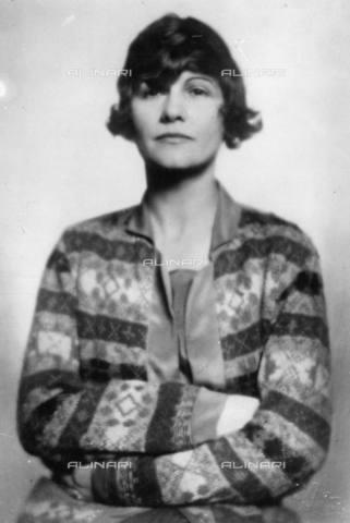 TOP-S-00SP00-5190 - Ritratto di Coco Chanel (1883-1971) - Data dello scatto: 1926 - TopFoto / Archivi Alinari