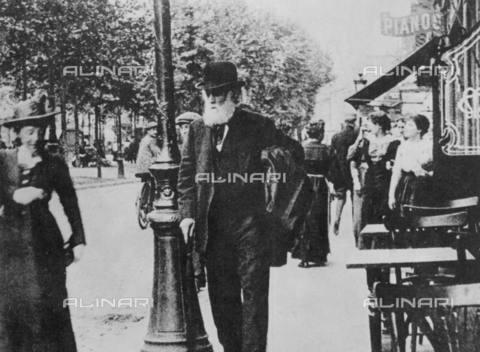 TOP-S-00SP00-8752 - Il pittore Edgar Degas (1834-1917) - Data dello scatto: 1910 ca. - TopFoto / Archivi Alinari
