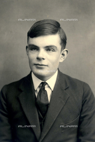TOP-S-HIP261-7746 - The British mathematician Alan Turing (1912-1954) - Heritage-Images / TopFoto / Alinari Archives