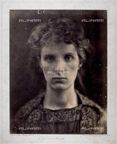 """UIG-F-030096-0000 - """"Cassiopea"""": ritratto femminile - Data dello scatto: 05/1866 - UIG/Archivi Alinari"""