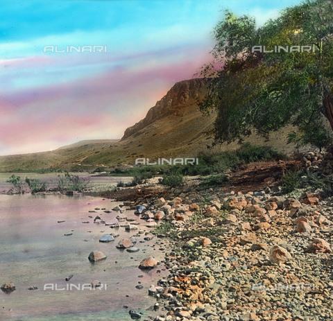 UIG-F-030862-0000 - Il lago di Tiberiade - Data dello scatto: 1920 - United Archives / UIG/Archivi Alinari