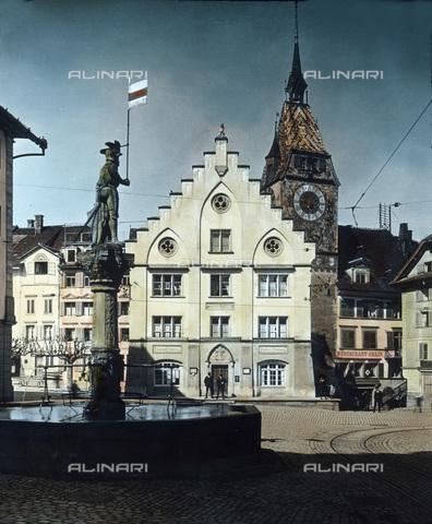 UIG-F-030873-0000 - Il municipio di Zugo. - Data dello scatto: 1930 - United Archives / UIG/Archivi Alinari