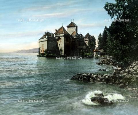 UIG-F-030882-0000 - Castello di Chillon. - Data dello scatto: 1930 - United Archives / UIG/Archivi Alinari