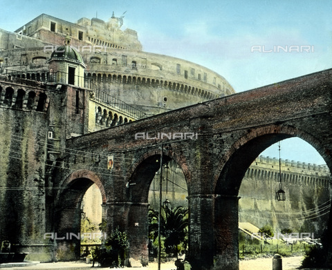 UIG-F-030883-0000 - Castel Sant'Angelo. - Data dello scatto: 1920 - United Archives / UIG/Archivi Alinari