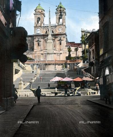 UIG-F-030893-0000 - Trinità dei Monti - Data dello scatto: 1920 - United Archives / UIG/Archivi Alinari