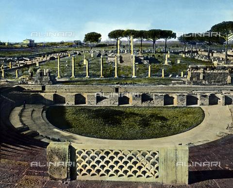 UIG-F-030896-0000 - Porto antico ad Ostia - Data dello scatto: 1920 - United Archives / UIG/Archivi Alinari