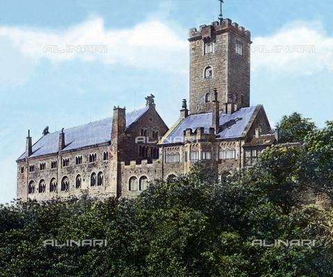 UIG-F-030900-0000 - Wartburg castle. - Data dello scatto: 1920 - United Archives / UIG/Alinari Archives