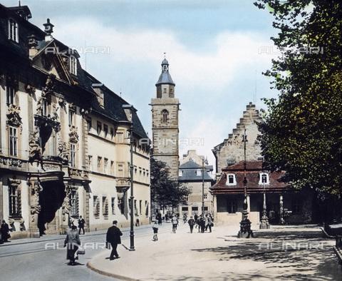 UIG-F-030904-0000 - Edificio governativo e chiesa di St. Wigbert, Erfurt - Data dello scatto: 1920 - United Archives / UIG/Archivi Alinari