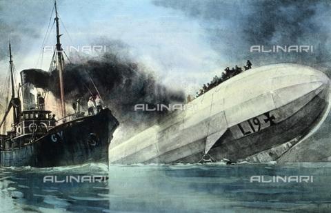 UIG-F-030936-0000 - Zeppelin L 19. - Data dello scatto: 02/02/1916 - UIG/Archivi Alinari, United Archives