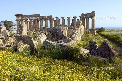 UIG-F-031088-0000 - Temple E, or Era, civilization of Magna Grecia, Selinunte - UIG/Alinari Archives