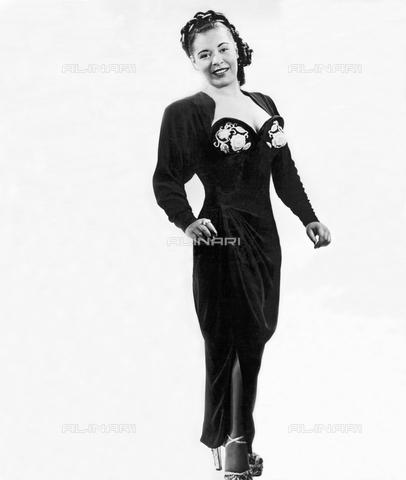 UIG-F-031124-0000 - The American singer Billie Holiday (1915-1959) during a photo shoot - UIG/Alinari Archives