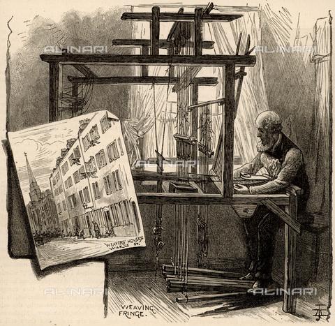 UIG-F-033628-0000 - Tessitore della seta a Spitalfields - UIG/Archivi Alinari