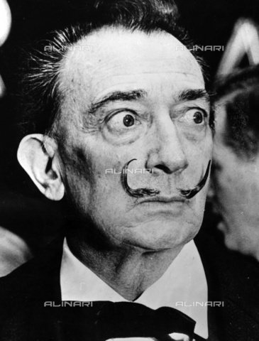 ULL-F-004261-0000 - Portrait of the painter Salvador Dali (1904-1989) - Data dello scatto: 1965 - amw / Ullstein Bild / Alinari Archives
