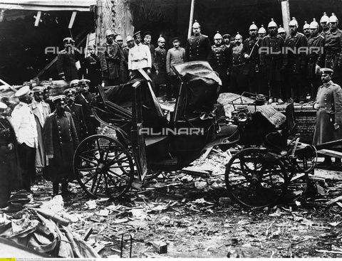 ULL-F-068285-0000 - Bombing of St. Petersburg country house of Russian Prime Minister Pyotr Arkadyevich Stolypin - Data dello scatto: 1906 - Ullstein Bild / Alinari Archives